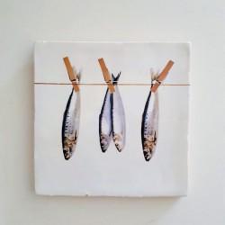 Tegel Vissen aan Lijn